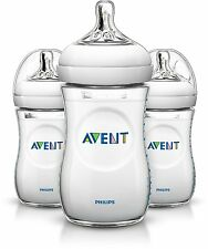 Philips AVENT Natural SCF693/37 260 ml Feeding Bottle 1 month+ (Pack of 3)