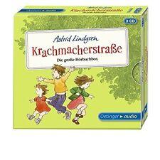 ASTRID LINDGREN - KRACHMACHERSTRAßE DIE GROßE HÖRBUCH BOX 3 CD NEU