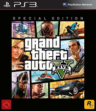 Sony Playstation 3 PS3 Spiel Grand Theft Auto V GTA 5 -- Special Edition USK 18