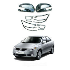 Chrome Mirror cover & Rear Lamp Cover Molding LED Type for Kia Forte 2010-2012