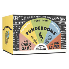 Punderdome: A Card Game for Pun Lovers - Funny Word Party Kids Adults All Ages