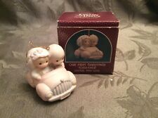 Precious Moments Christmas Our First Christmas Together 1990 ORNAMENT 525324