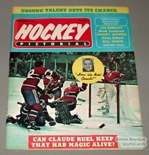 1968 Hockey Pictorial Magazine MTL Canadiens Cover