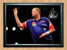 Raymond Van Barneveld Darts Signed Autographed A4 Poster Photo Print Photograph