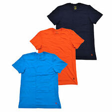 Polo Ralph Lauren Mens 3 Pack Crew Neck Undershirts Pony Logo Tshirts New
