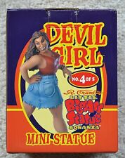 R. Crumb Devil Girl Statue Little BigAss Statue Bowen Designs Limited 724/2000