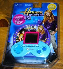 Hannah Montana Miley Cyrus Zizzle Electronic Handheld Video Game NEW SEALED RARE