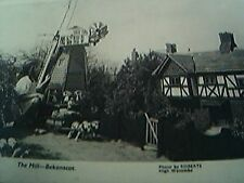 postcard unused old undated the mill bekonscot