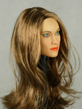 1/6 Phicen, Kumik, NT - Female Head Sculpt (Olivia Wilde) Alternate Version