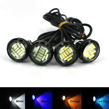 2x Weiß DC 12V 15W Eagle Eye 12 LED Daytime Running Backup Light Auto-Lampe