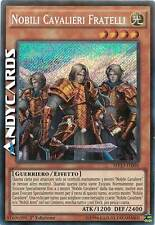 Nobili Cavalieri Fratelli ☻ Segreta ☻ MP15 IT046 ☻ YUGIOH ANDYCARDS