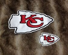 Kansas City Chiefs XL & Small High Quality Embroidered Patch