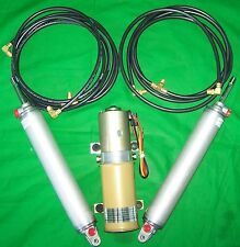 1958-63 Chrysler Imperial Convertible Top Hydraulic Kit - Pump Hoses Cylinders
