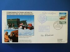 1988 TRANSANTARCTIC EXPEDITION COVER SIGNED BY PETER VAUGHAN [ PORRIDGE ]