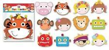 15 FUN PARTY MASKS FOR KIDS Childrens Fancy Dress Girls Boys Party Bag Fillers
