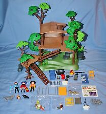 Playmobil TREE HOUSE #5746 2003 Some NEW with Box, Not Complete Missing 5-7 pcs.