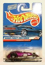 HOT WHEELS Hammered Coupe, Purple, 2000 First Editions #33 of 36 cars