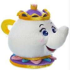 7.8''Beauty and the Beast Belle Mrs. Potts Plush Toy Doll Kids Boy Girl Gift