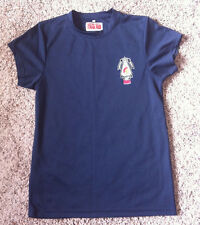 National Guard Dri Fit Shirt Blue Sz S Polyester Short Sleeve Compression