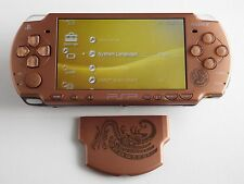 Sony PSP 2000 Monster Hunter Portable 2nd G Pack Matte Bronze Limited Console