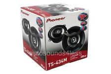 "Pioneer TS-434M 150 Watts 4"" 2-Way Coaxial Car Audio Speakers New"