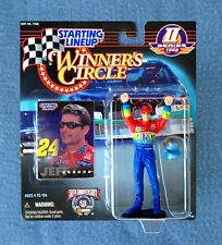 "JEFF GORDON NASCAR WINNER'S CIRCLE STARTING LINEUP 5"" FIGURE KENNER SERIES 2"
