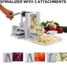 Rebanador De Verduras Patatas Comida de Fruta de Cocina Espiral Twister Chopper spiraliser