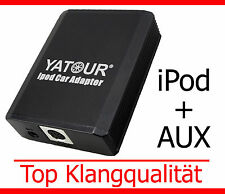 iPod iPhone Aux Adapter Peugeot 207 307 308 407 607 807 Partner RD4 Interface