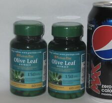 TWO, Standardized Olive Leaf EXTRACT (20% Oleuropein),  120 capsules (total)