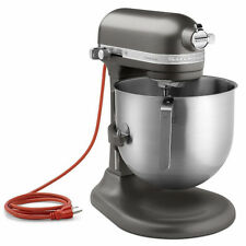 KitchenAid Commercial 8-Qt Bowl Lift NSF Stand Mixer RKSM8990DP Dark Pewter