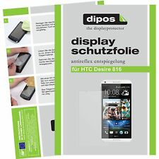 1x dipos HTC Desire 816 screen protector protection guard anti glare