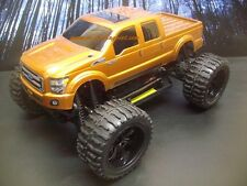 Ford F-250 SD Custom Painted 4X4 Volcano EPX 1/10 RC Monster Truck Waterproof