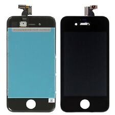 Vetro Touch screen con Display LCD originale NERO assemblato PER iPhone 4S -