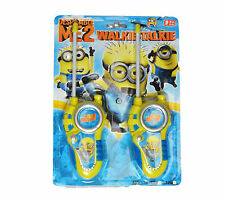 Walkie Talkies For Kids DESPICABLE ME Minon - BRAND NEW Toy
