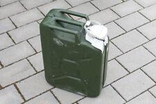 20 Liter Wasser Kanister original Bundeswehr, gebraucht