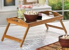 Breakfast In Bed Tray For Eating Bamboo Laptop Stand Her Housewarming Gift Ideas