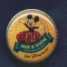 Disney Pin: Walt Disney World - Ride & Show - Mickey Mouse In Red Car