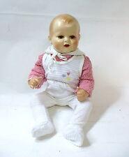 Wundeschöne lebensgroße Puppe mit Stimme um 1930 bewegliche Augen gemarkt