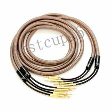 Accuphase 40th Anniversary Edition Speaker Cable 2.5Meter/pair banana plugs