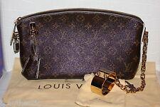 Louis Vuitton Monogram Lockit Fetish Pochette Clutch Lock Me Cuff Limited RUNWAY