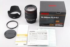 [EXC+++] Sigma DC 18-200mm F3.5-6.3 SLD AF Lens For Nikon from Japan #Z20K