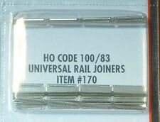 Atlas HO #170 Universal Rail Joiners Code 100/83 (48 Joiners pcs in package)