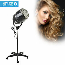 Hair Dryer Timer Swivel Hood Caster for Salon Beauty Professional Stand Up
