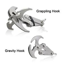 Multi-functional Stainless Steel Survival Magnetic Folding Grappling Hook