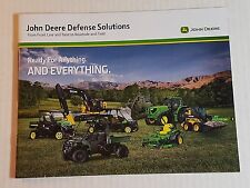 John Deere Defense Solutions Military Product Catalog Booklet NEW