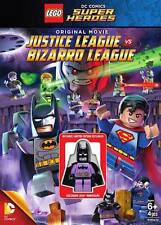LEGO DVD DC COMICS BATMAN JUSTICE LEAGUE VS BIZARRO SUPERHEROES NEW SEALED