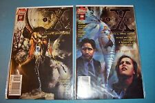THE X FILES #37 and #38 Topps Comic Books