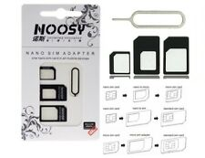 Nano + Micro 3in1 Simkarten Adapter Pin cutter Nadel Sim iPhone Samsung HTC NEU