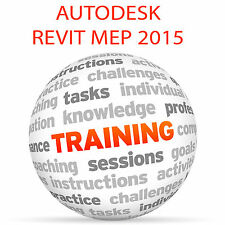 Autodesk REVIT MEP 2015 - Video Training Tutorial DVD