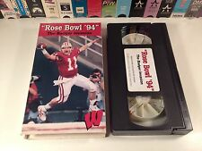 Rose Bowl '94: The Badger Invasion VHS Wisconsin College Football Documentary